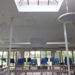 Calefacción por infrarrojos para escuelas y universidades