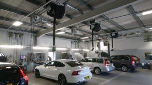 Snows Motor Group workshop