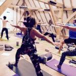 Calentadores infrarrojos para estudios de yoga caliente y spas