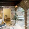 Herschel california gold calefacción exterior de la sala de la piscina protegida, montada en la pared