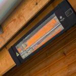 Calentadores de patio con brillo cálido Herschel