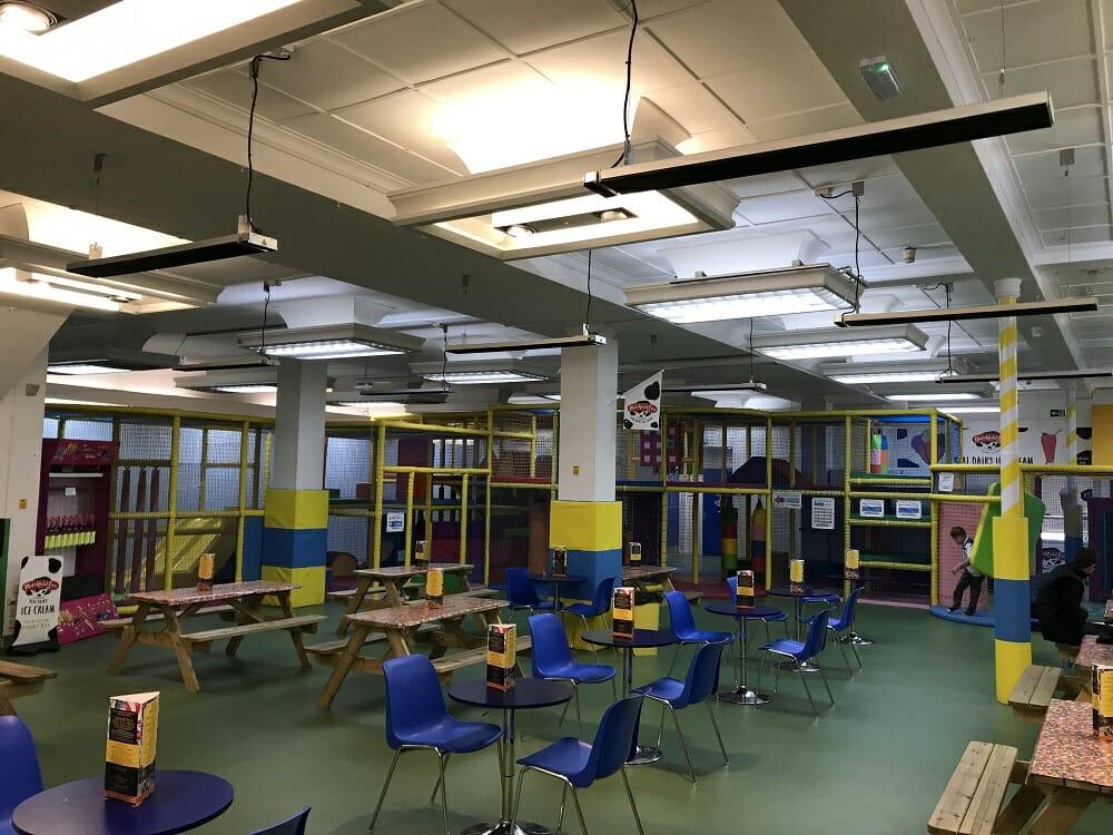 Herschel Summit heating kids indoor play area