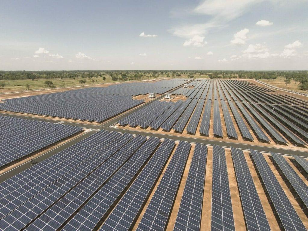electricidad libre de co2 de la energía solar