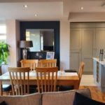 Calentadores infrarrojos para cocinas y salas de estar