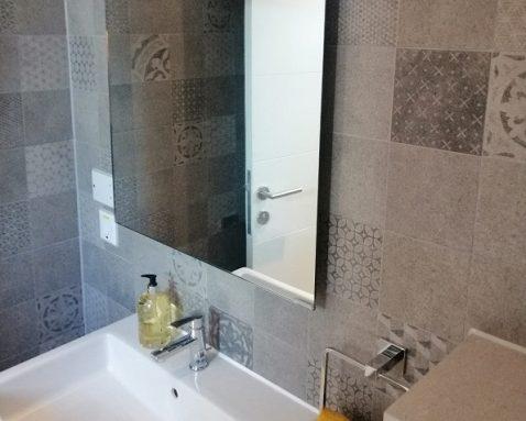 calentador de baño eléctrico