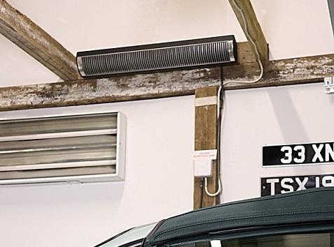 Por qué elegí calentar mi coche clásico y mi garaje con infrarrojos de Herschel