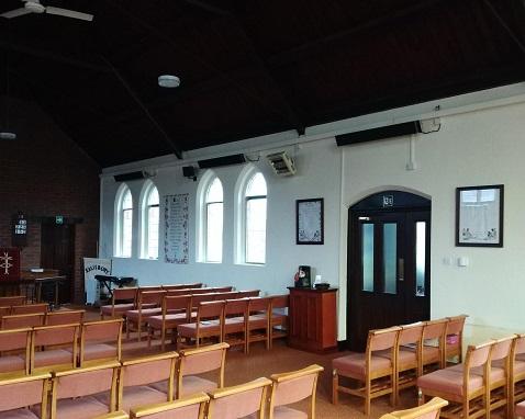 sistemas de calefacción de la iglesia