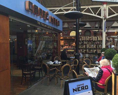 Caffe nero calentado por Herschel