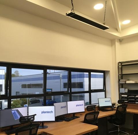 Soluciones de calefacción para oficinas