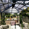 Herschel Manhattan outdoor heaters warming restaurant terrace