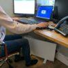 Herschel bajo calentadores de escritorio para trabajadores a domicilio